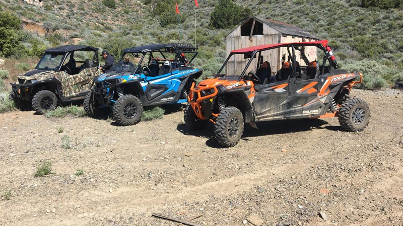 Polaris RZR and Ranger Nevada Desert