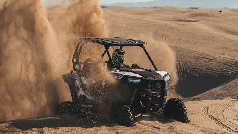 Polaris RZR stuck in sand dunes